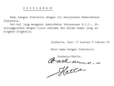 Penyusunan Teks Proklamasi Kemerdekaan Indonesia e5355754ff